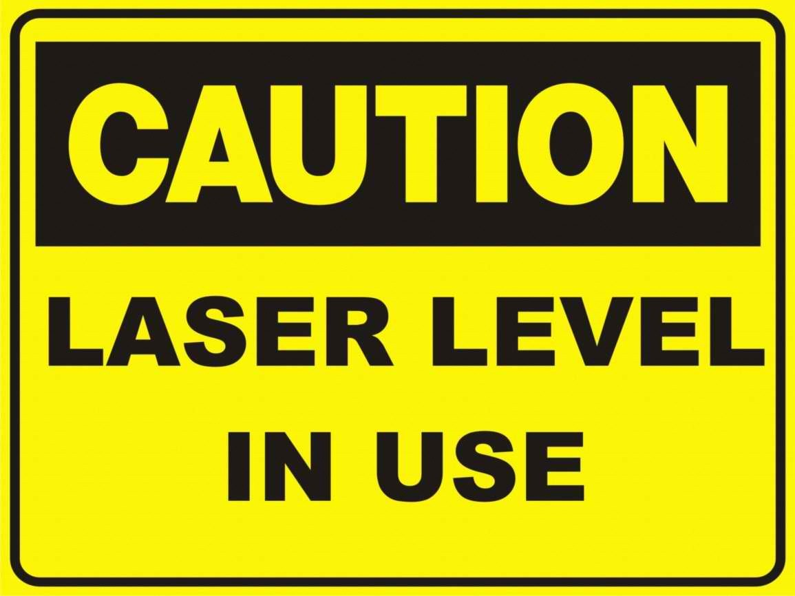 Laser Levels in use