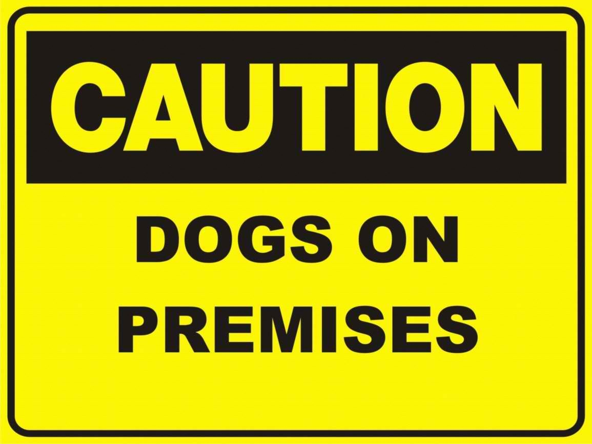 Dogs on premises